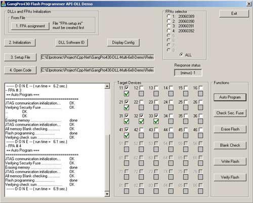 API-DLL demo GangPro430