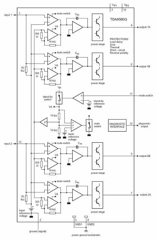 tda8560q - Практическая схемотехника.