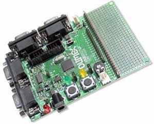 LPC-P2129 - Vývojová deska s ARM7 ve funkci měřícího a řídícího modulu s 2xCAN, 2xUART, 10bit. ADC, PWM, ...