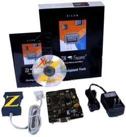 Vývojový kit Z8F64 200 100 KIT
