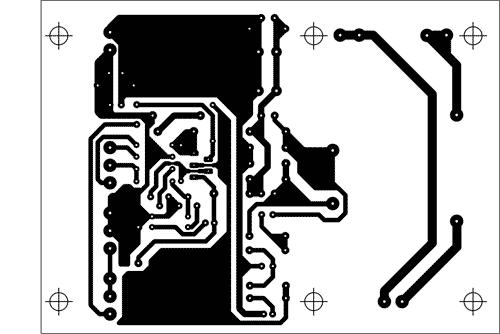 Návrh DPS zdroje s obvodem L200CV